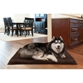 Furhaven NAP Suede Top Orthopedic Dog Bed