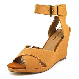 Michael Antonio Women's 'Gamada' Faux Leather Sandals