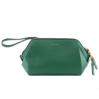 Marc Jacobs Incognito Green Leather Doctor Pouch