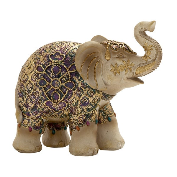 Elephant Statue Multi colored