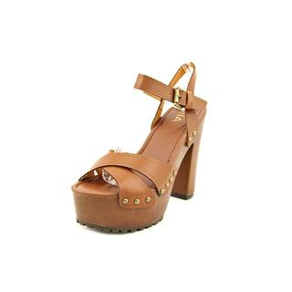 Mia Women's 'Elly ' Faux Leather Sandals