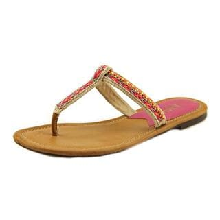 Mia Heritage Women's 'Fiji' Synthetic Sandals