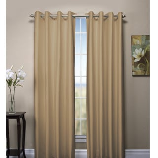 Reflections Reversible Double Insulated Grommet Curtain Panel Pair