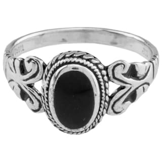 Haven Park Black Onyx Ring