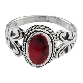 Haven Park Sterling Silver Jasper Ring