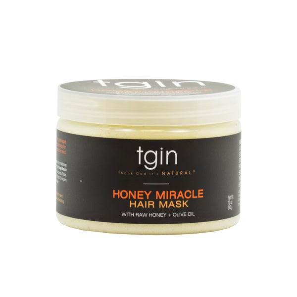 TGIN 12-ounce Revitalizing and Softening Honey Miracle Hair Mask 18607477
