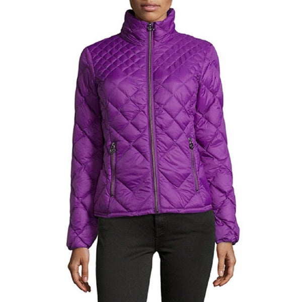 Michael Kors Purple Diamond Jacket XS