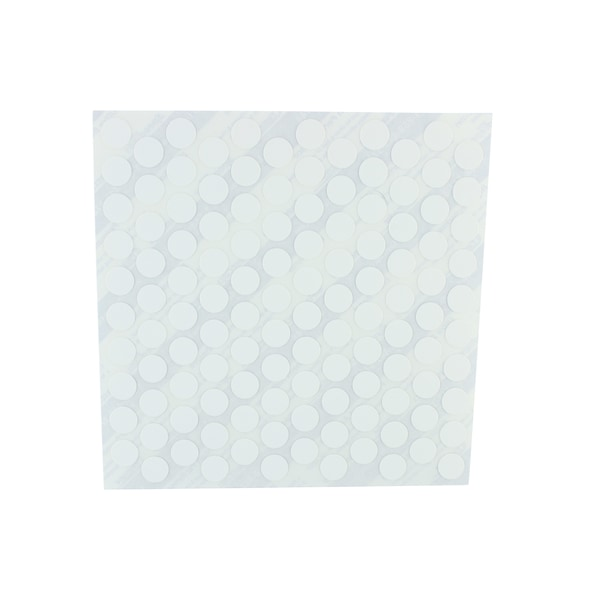 FastCap White Plastic 120 Pack 3/8-inch Self-adhesive Screw Cap Covers