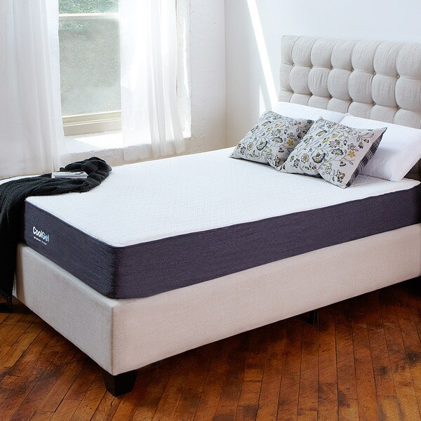 PostureLoft 10.5-inch Cal King-size Ventilated Gel Memory Foam Mattress