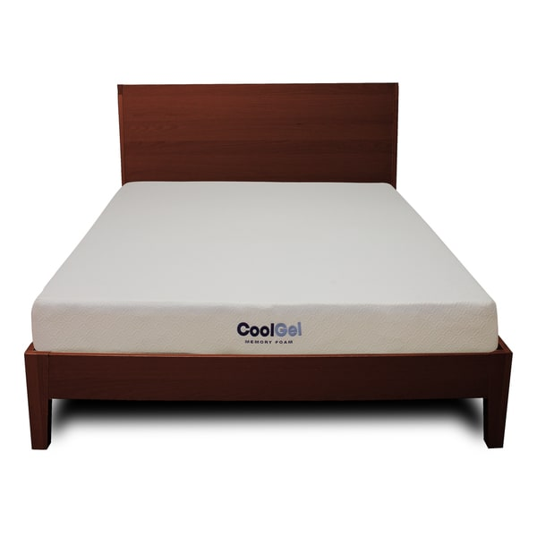 PostureLoft 6-inch Twin-size Ventilated Gel Memory Foam Mattress