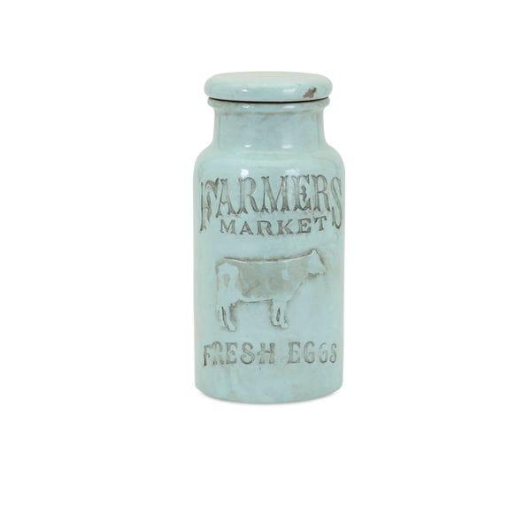 Farmers Market Small Lidded Jar