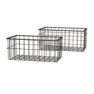 Hoyle Wire Baskets - Set of 2