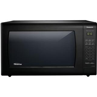Panasonic NN-SN936B Black 2.2-cubic-foot 1,250-watt Genius Sensor Countertop Microwave Oven With Inverter Technology