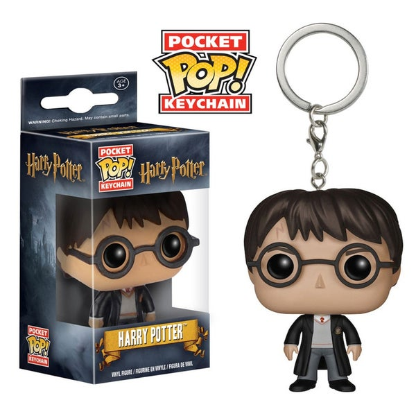 Funko Harry Potter/ Hermione/ Voldermort Vinyl Figure Pocket POP Keychain