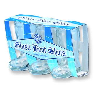 Versil Set of 3 Boot Shot Glasses