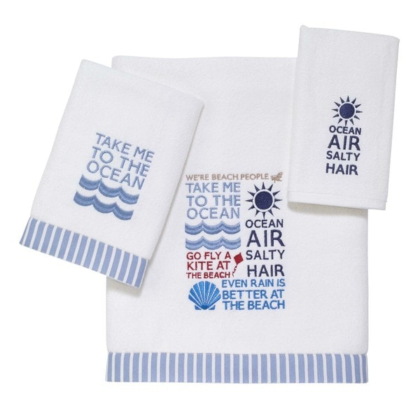 Beach Words 3-piece Towel Set