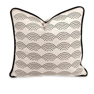 IK Ledux Throw Pillow w/ Down Insert