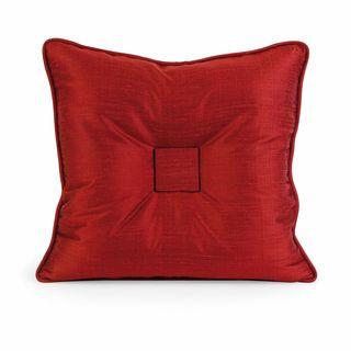 IK Paola Thai Silk Throw Pillow w/ Down Fill