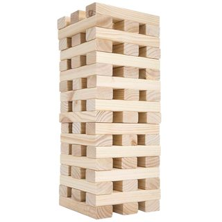 Hey! Play! Large Wooden Tumbling Towers