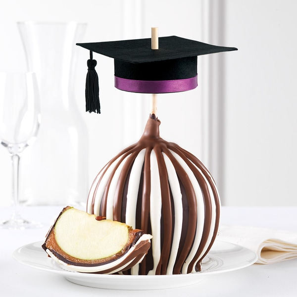 Graduation Cap Jumbo Caramel Apple
