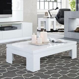 Manhattan Comfort Bridge 2-piece Accent Table Living Room Set