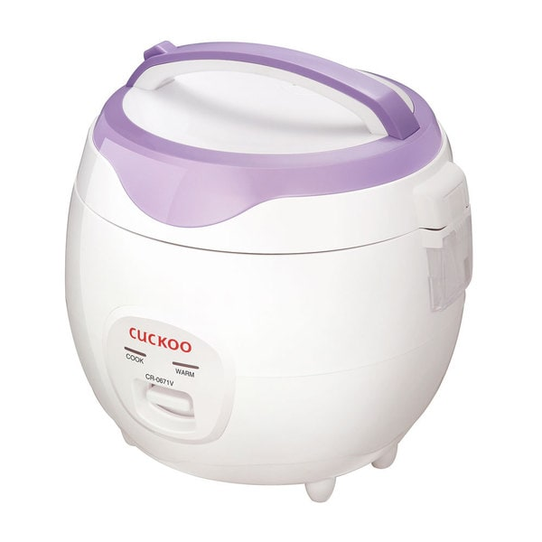 Cuckoo CR-0671V 6 Cups Electric Heating Rice Cooker 18611396