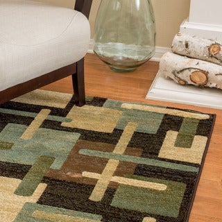 Christopher Knight Home Stacey Annabelle Medium Blue Rug (5' x 8')