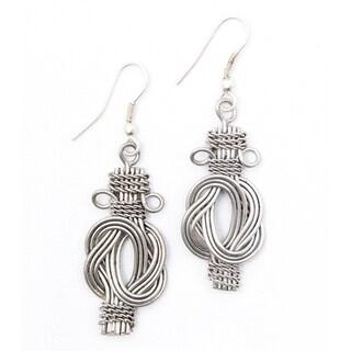 Buddha Knot earrings