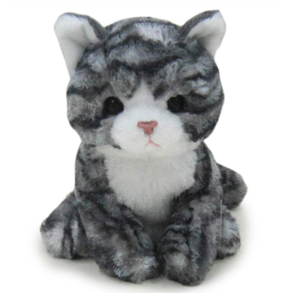 Kityu Gifts Grey Bengal Stripe Plush Kitten