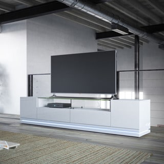Manhattan Comfort Vanderbilt TV Stand with LED Lights