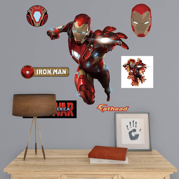 Iron Man Civil War Jr. Fathead