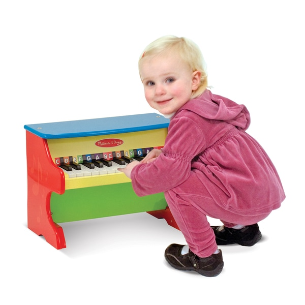 compare melissa doug toys learn to play upright piano