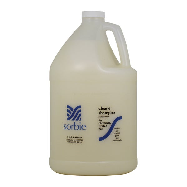 Hayashi Sorbie Clean 1-gallon Shampoo for Chemically Treated Hair