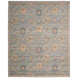 Nourison Timeless Light Blue Rug (8'6 x 11'6)