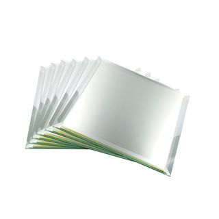 Decorative or High-end Collectible Square Mirrors With 3-millimeter Bevel
