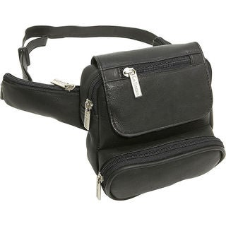 LeDonne Traveler Leather Waist Bag