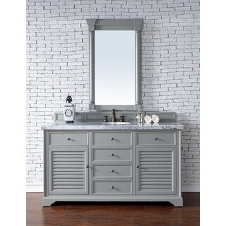 Savannah Urban Grey 60-inch Single Vanity Cabinet
