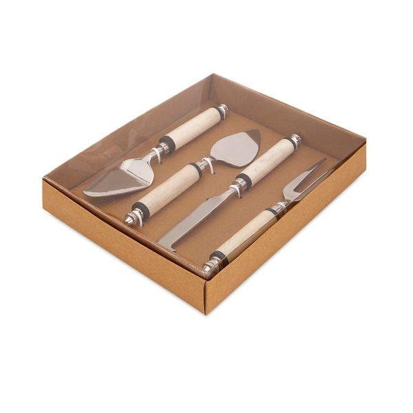 Trisha Yearwood Bone Handle Cheese Knives with Gift Box