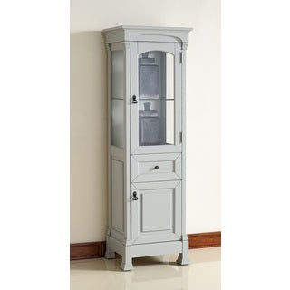 savannah providence cottage white small linen cabinet 18725479