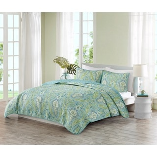 Echo Design Kelly Paisley Multi 3-piece Quilt Set