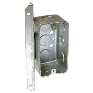 Hubbell Raco 661 Single Gang Handy Box With Bracket
