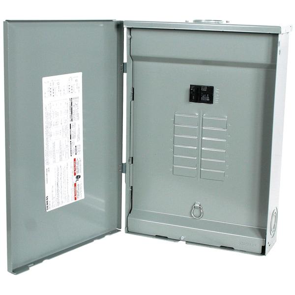 Siemens SW1224B1100 24 Circuit 100 Amp Outdoor Main Breaker Load Center