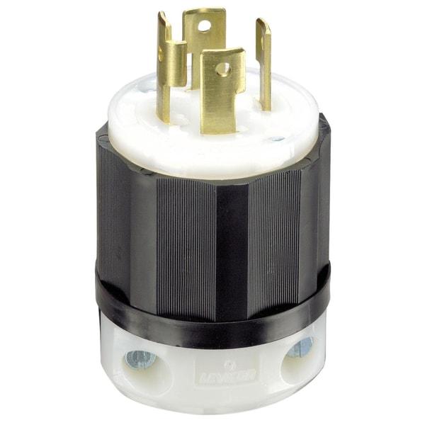 Leviton 061-2711 30 Amp 4W, 3P NEMA L14-30P Locking Plug
