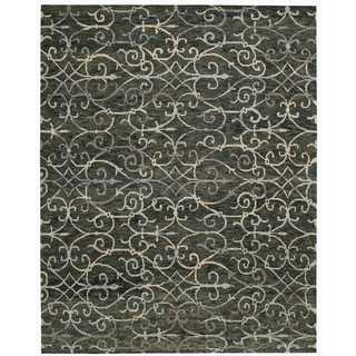 Nourison Tahoe Modern Charcoal Rug (8'6 x 11'6)