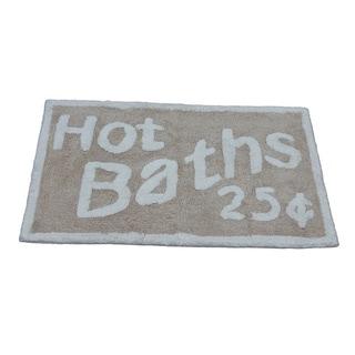 'Hot Baths 25-Cents' Bath Rug (21 inches x 34 inches)