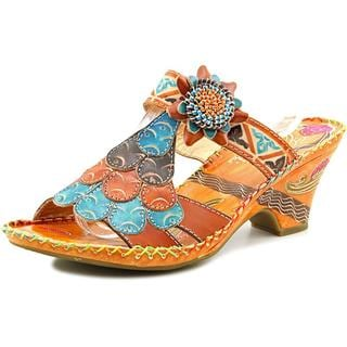 Corkys Women's Elite Navajo Leather Sandals