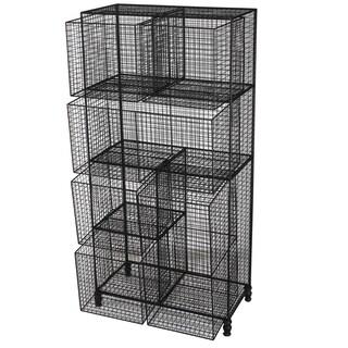 Botana Wire Shelf With 6 Baskets