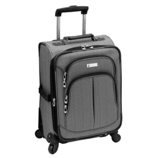 London Fog Chatham Collection 20-inch Expandable Carry-on Spinner Suitcase