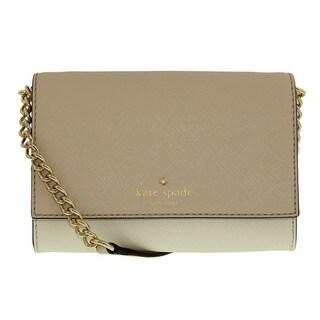 Kate Spade New York Cedar Street Cami Crisp Linen/Cement Crossbody Handbag