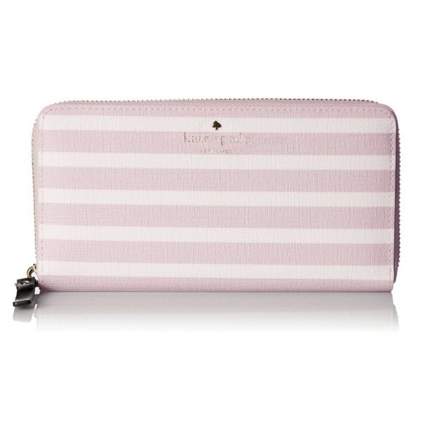 Kate Spade New York Fairmount Square Lacey Pink Blush/Cream Wallet